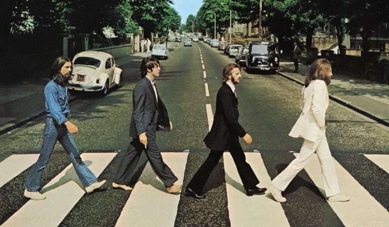 "Beatles ""Abbey Road"" cover image"