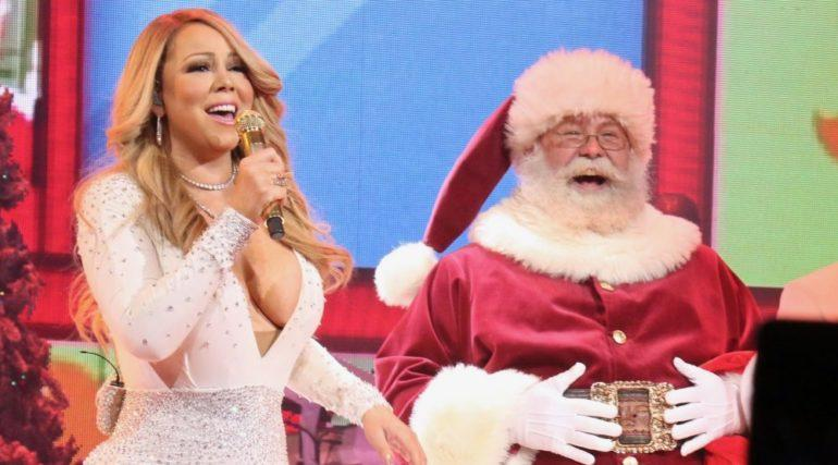 Mariah Carey 'All I Want for Christmas Is You' concert,